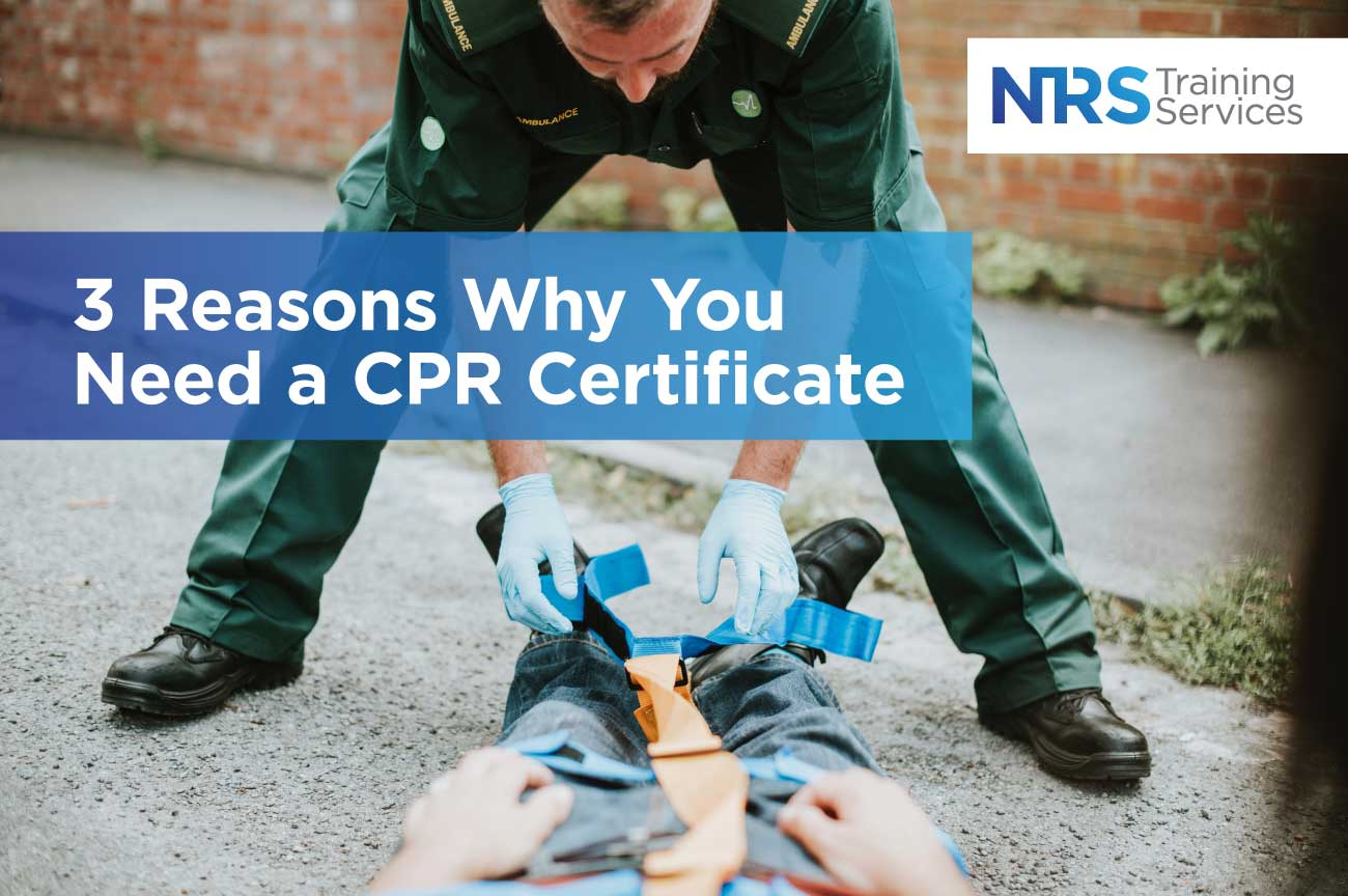 3 Reasons Why You Need a CPR Certificate