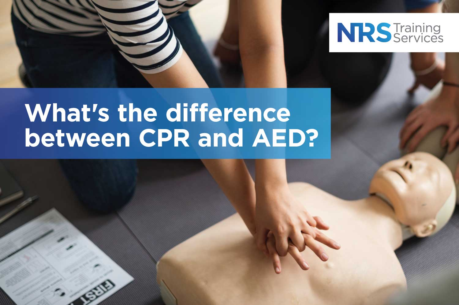 CPR Dummy and First Aid courses paper