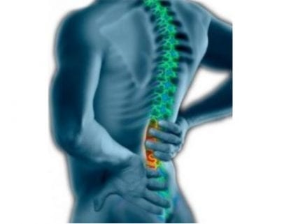 Back pain illustration