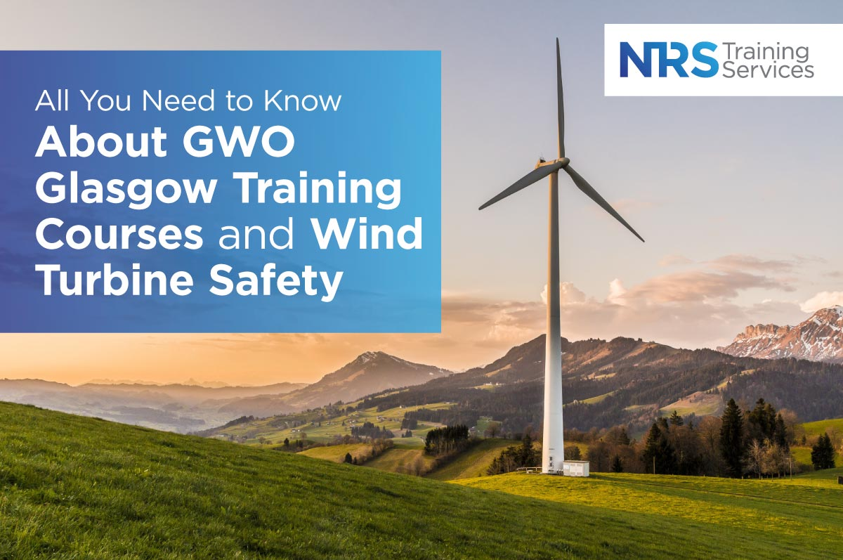 Wind Turbone in Countryside GWO Glasgow Training Courses