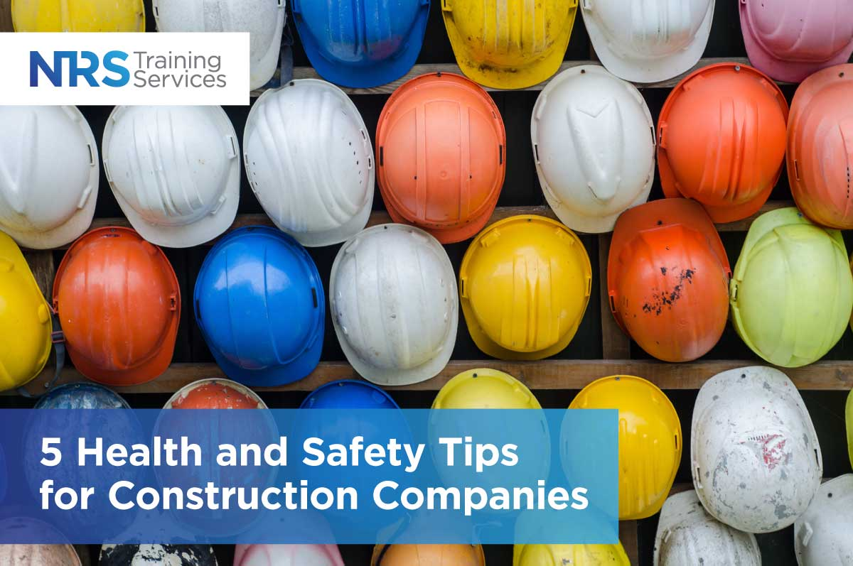 5 Health and Safety Tips for Construction Companies